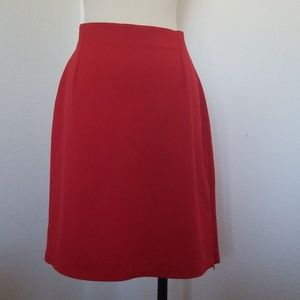 🌈New York & Company   red skirt   stretchy